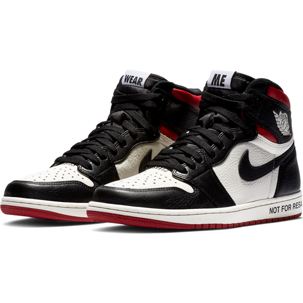 "5c6f59e9d1cbfc After an early release on Sneakrs App the Air Jordan 1 dubbed as the ""Not  For Resale"" is finally seeing a wider release."