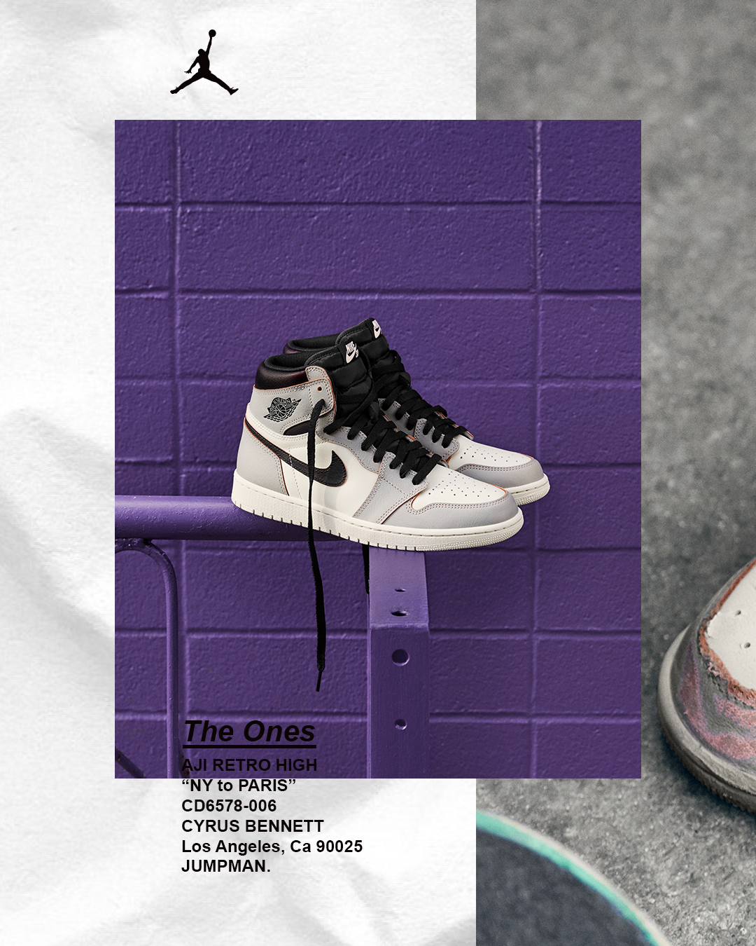09928fb0 Paying homage to the history of the Air Jordan 1 in the skateboarding  culture, Nike SB and Jordan Brand collaborate on the Air Jordan 1 High  silhouette.