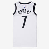 Nike Brooklyn Nets Swingman Jersey Kevin Durant Association Edition 20 White/Durant Kevin