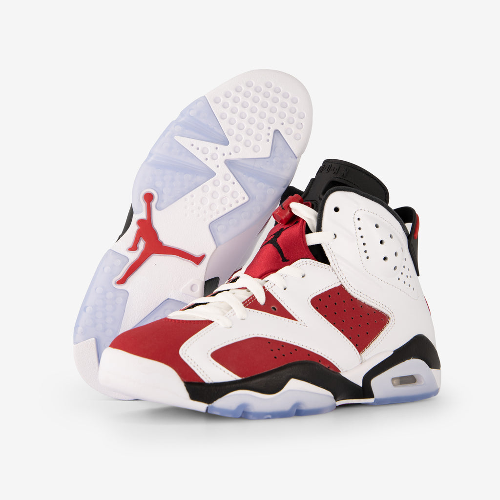 Air Jordan 6 Retro White/Carmine-Black