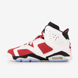 Air Jordan 6 Retro GS White/Carmine-Black