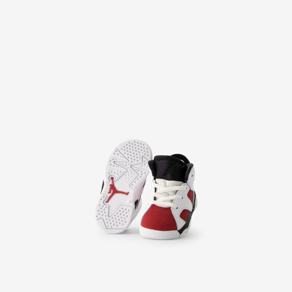 Air Jordan 6 Retro TD White/Carmine-Black