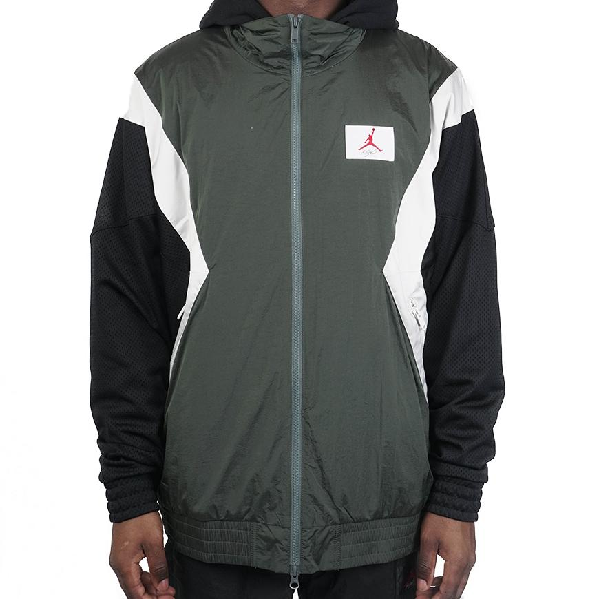 Jordan Flight Warming Up Jacket Vintage Lichen/Black/Smoke Grey