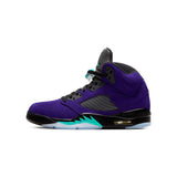 Air Jordan 5 Retro GRAPE ICE/NEW EMERALD-BLACK-CLEAR