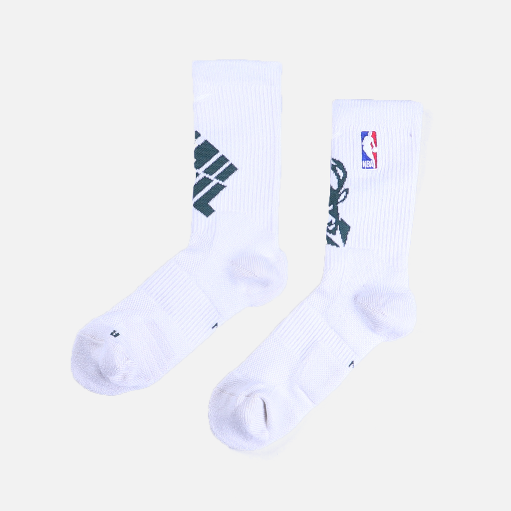 Nike Milwaukee Bucks Elite Crew Socks