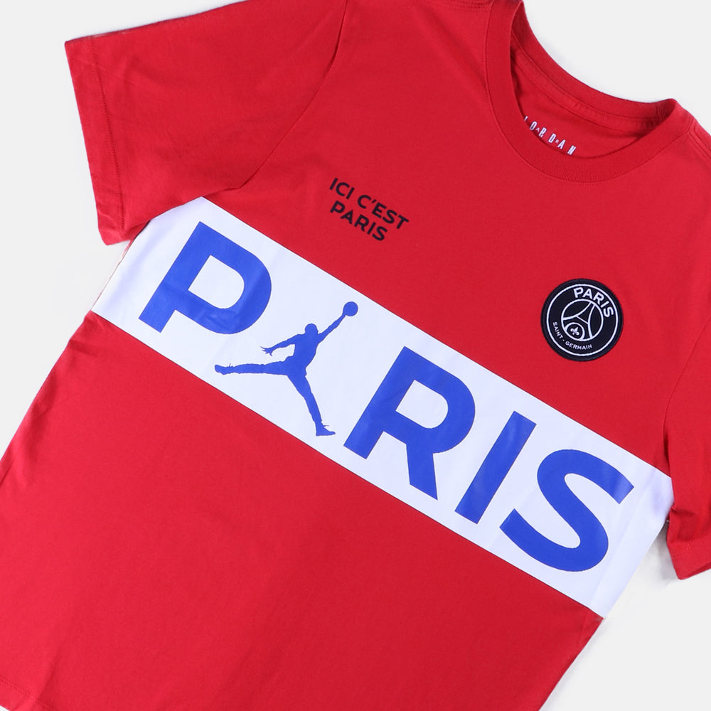 Paris Saint Germain x Air Jordan SS Wordmark Tee