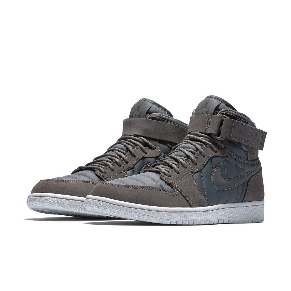 Air Jordan 1 High Strap Dark Grey