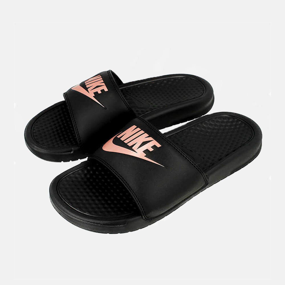 WMNS Benassi JDI Black Rose Gold
