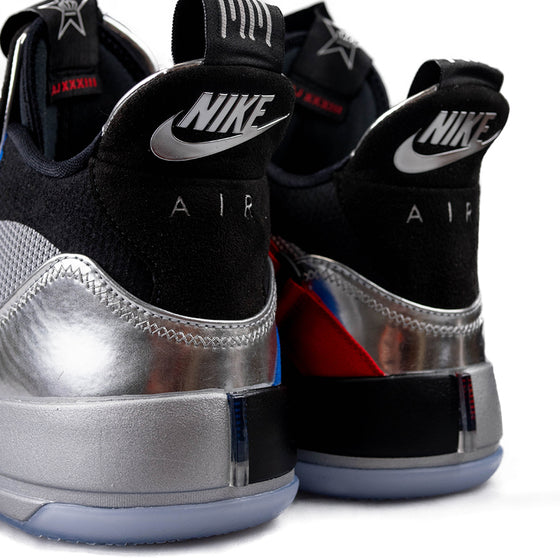 Air Jordan XXXIII Metallic Silver/Black