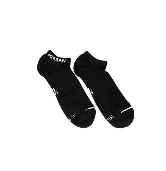 Jordan Jumpman Socks No Show 3pair  Black