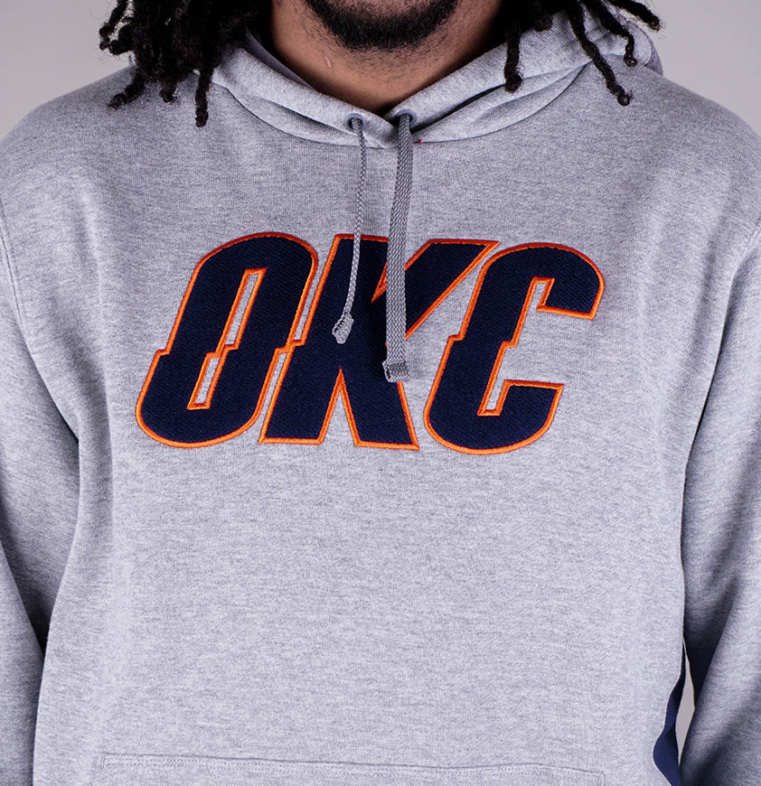 Oklahoma City Thunder Hoody  Dark Grey/College Navy
