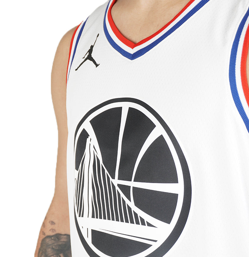 NBA Golden State Warriors Stephen Curry All-Star Edition Swingman Jersey White 19