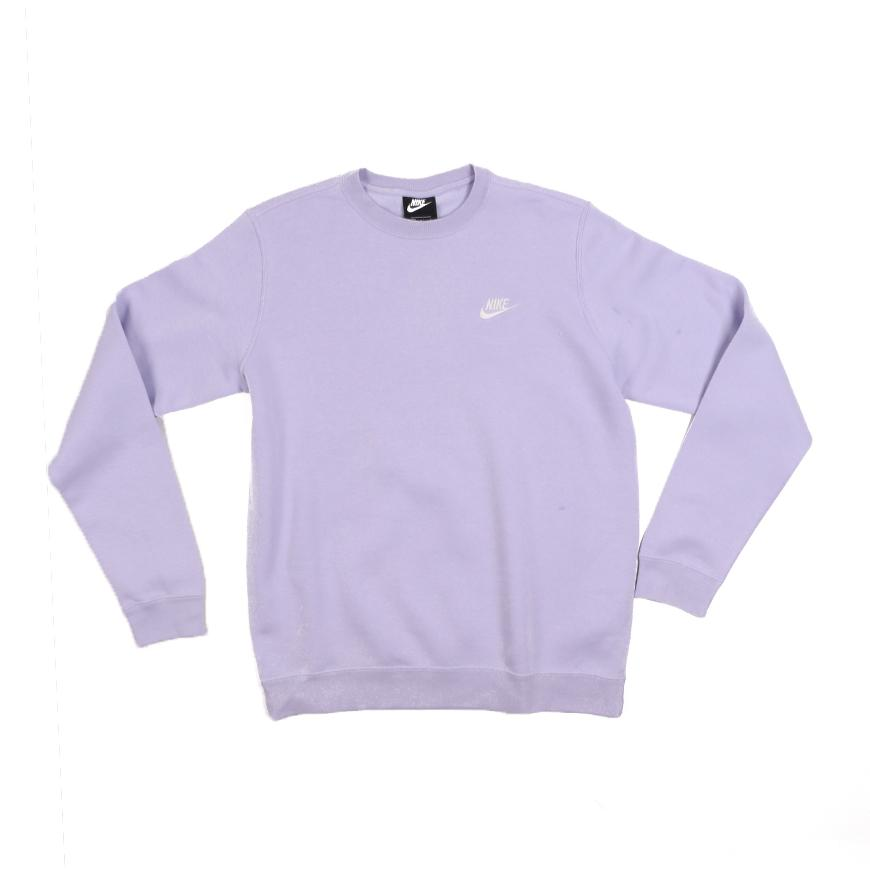 Nike Sportswear Club Crew   Oxygen Purple-White