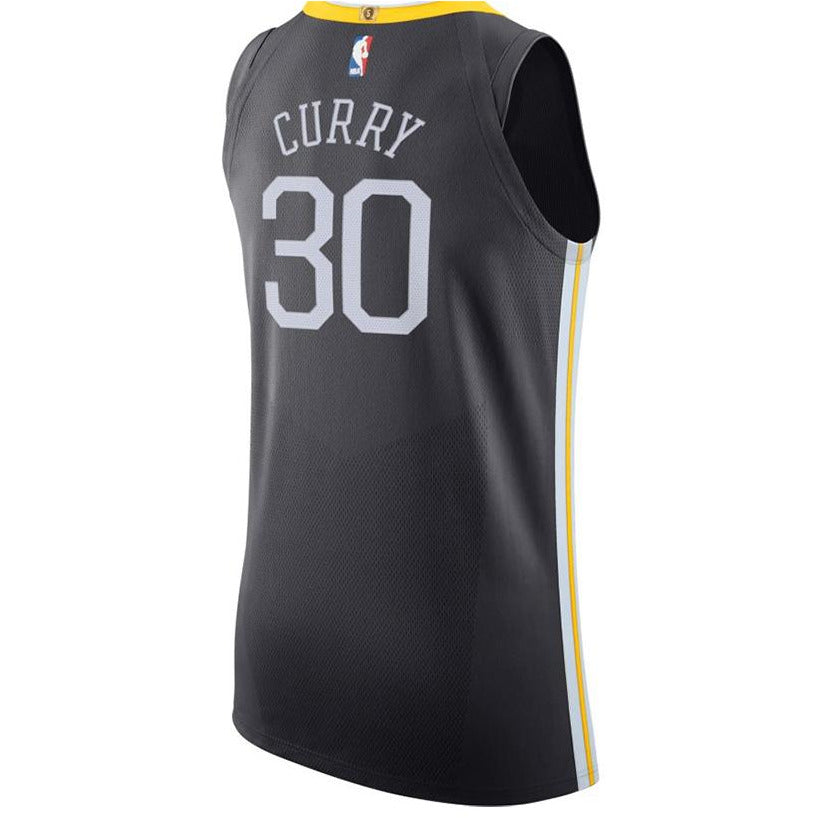 Nike NBA Golden State Warriors Authentic Jersey Stephen Curry Statement Edition