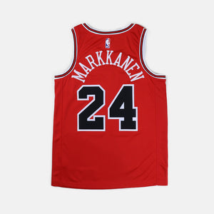 Nike Chicago Bulls Swingman Jersey Lauri Markkanen Icon Edition