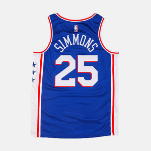 cheap for discount 49346 bb974 Ben Simmons Icon Edition Swingman (Philadelphia 76ers) Blue/White