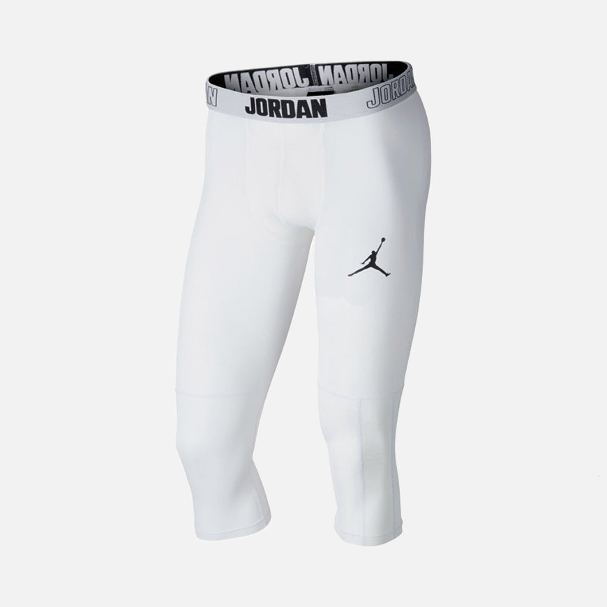 23 Alpha DRI-FIT 3/4 Tights White/Black