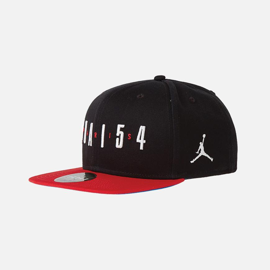 Quai 54 Pro Snapback Black / University Red
