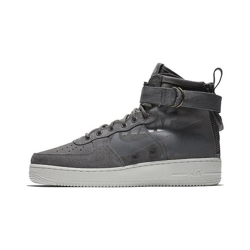 SP AF1 Mid Gunsmoke Wolf Grey Summit White