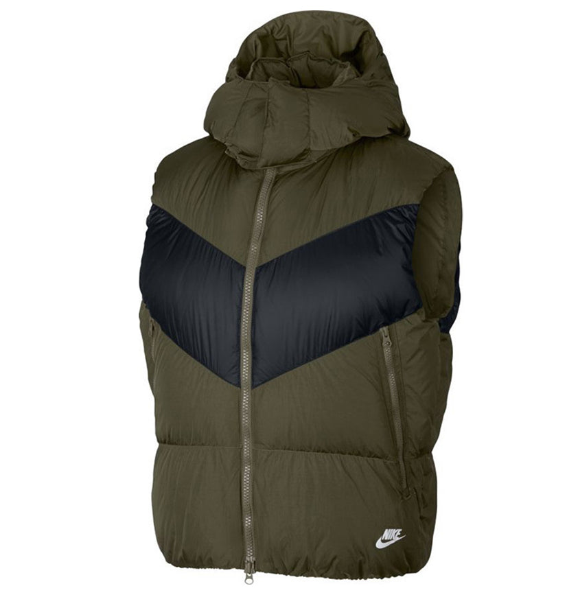 Nike Down Fill Bodywarmer  Olive Canvas/Black/Olive Canvas/White