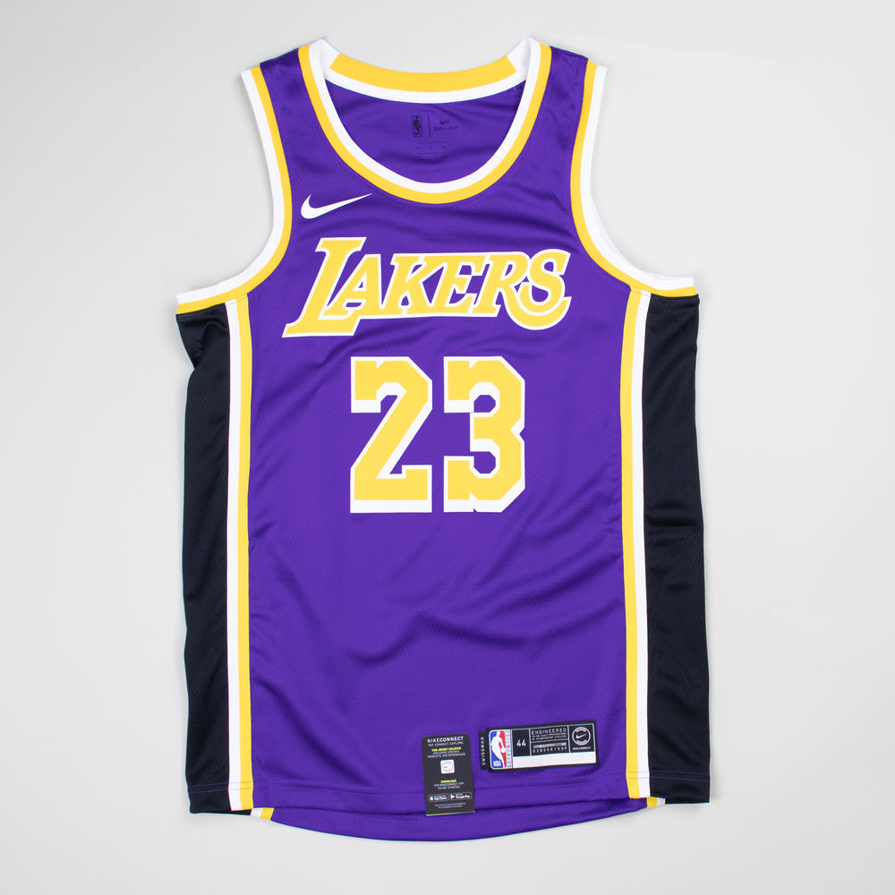 official photos 53ef3 4821a LeBron James Statement Edition Swingman Jersey