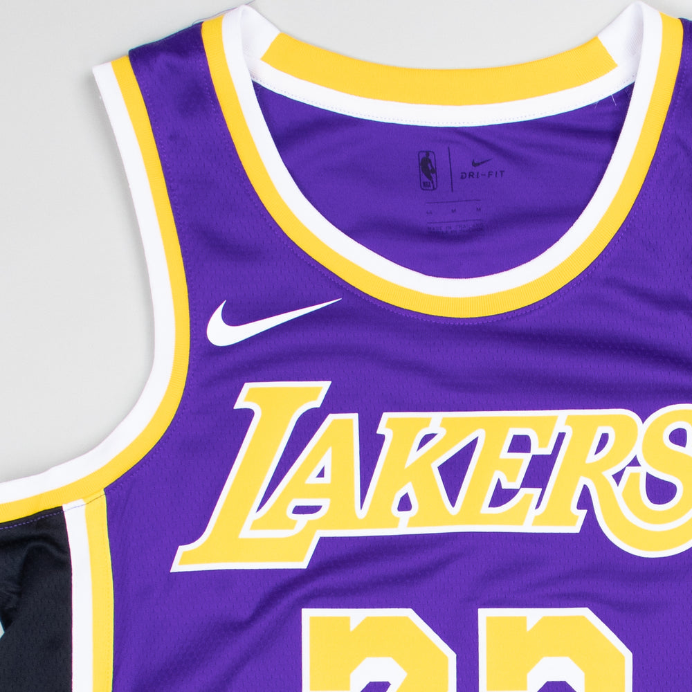 Nike LA Lakers Swingman Jersey LeBron James Statement Edition