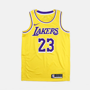 finest selection 53463 02810 LA Lakers Swingman Jersey Road Lebron James