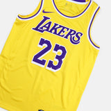 Nike LA Lakers Swingman Jersey Road LeBron James