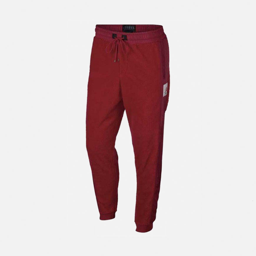 Jordan Wings of Flight Fleece Pant  Gym Red/Gym Red/Black