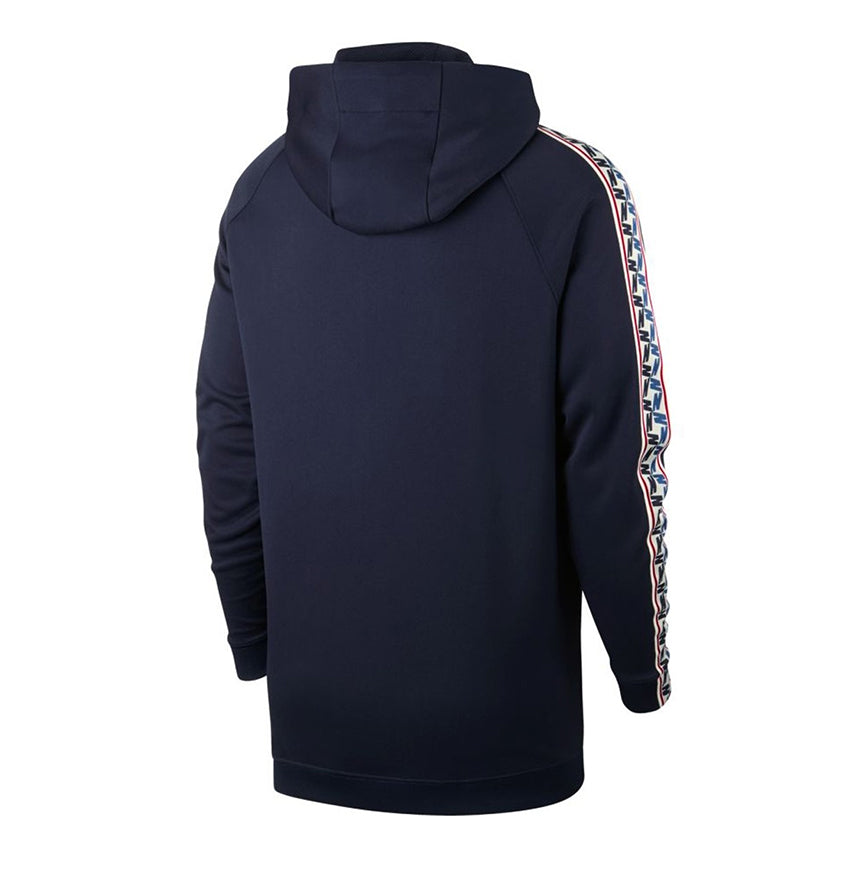 Nike Taped Half Zip Hoody Blue