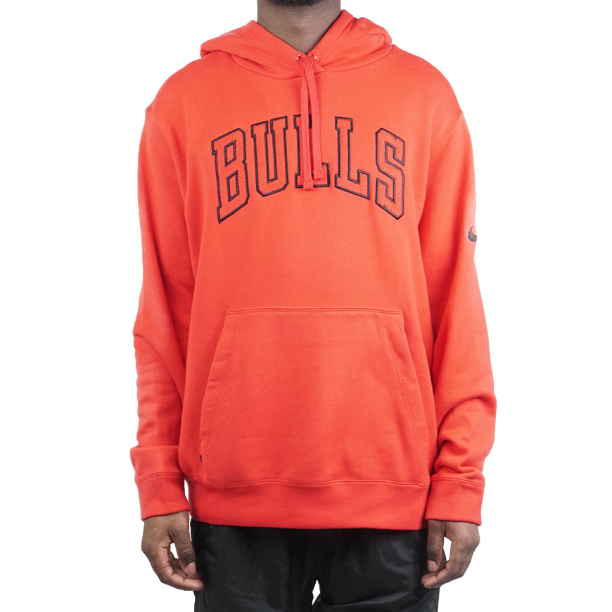 NBA Chicago Bulls Courtside Hoodie University Red/Black