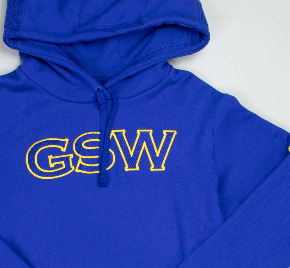 Nike Golden State Warriors Courtside Hoodie