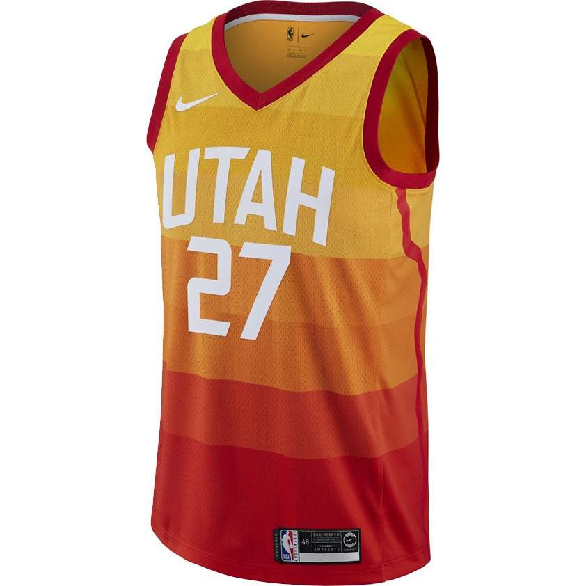 Nike Utah Jazz Swingman Jersey Rudy Gobert City Edition