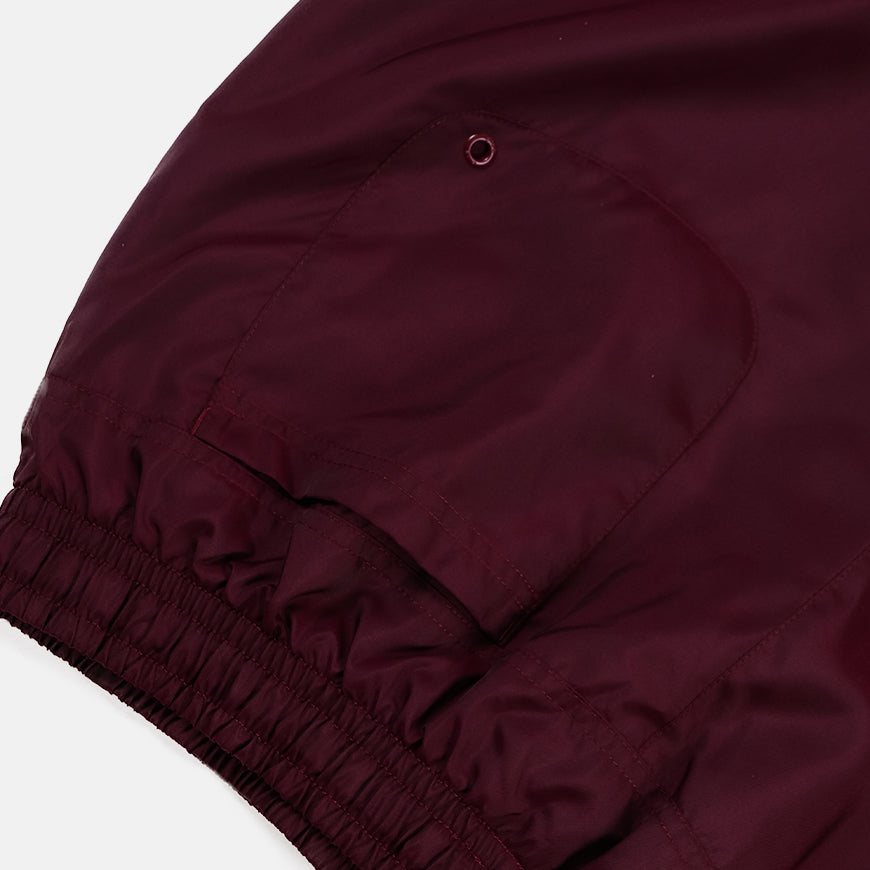 NSW ce Short Woven Flow Night Maroon/White