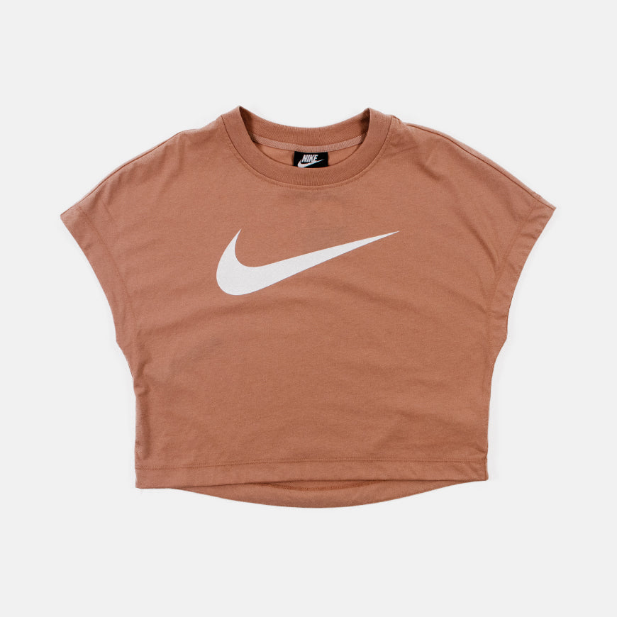 Nike Swoosh Crop Top Wmns