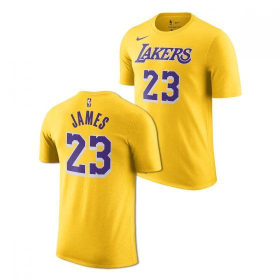 Nike LA Lakers Dry Tee Amarillo/James LeBron
