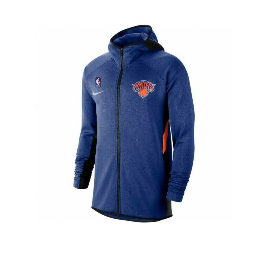 Nike New York Knick Thermoflex Showtime Full-Zip Hoodie
