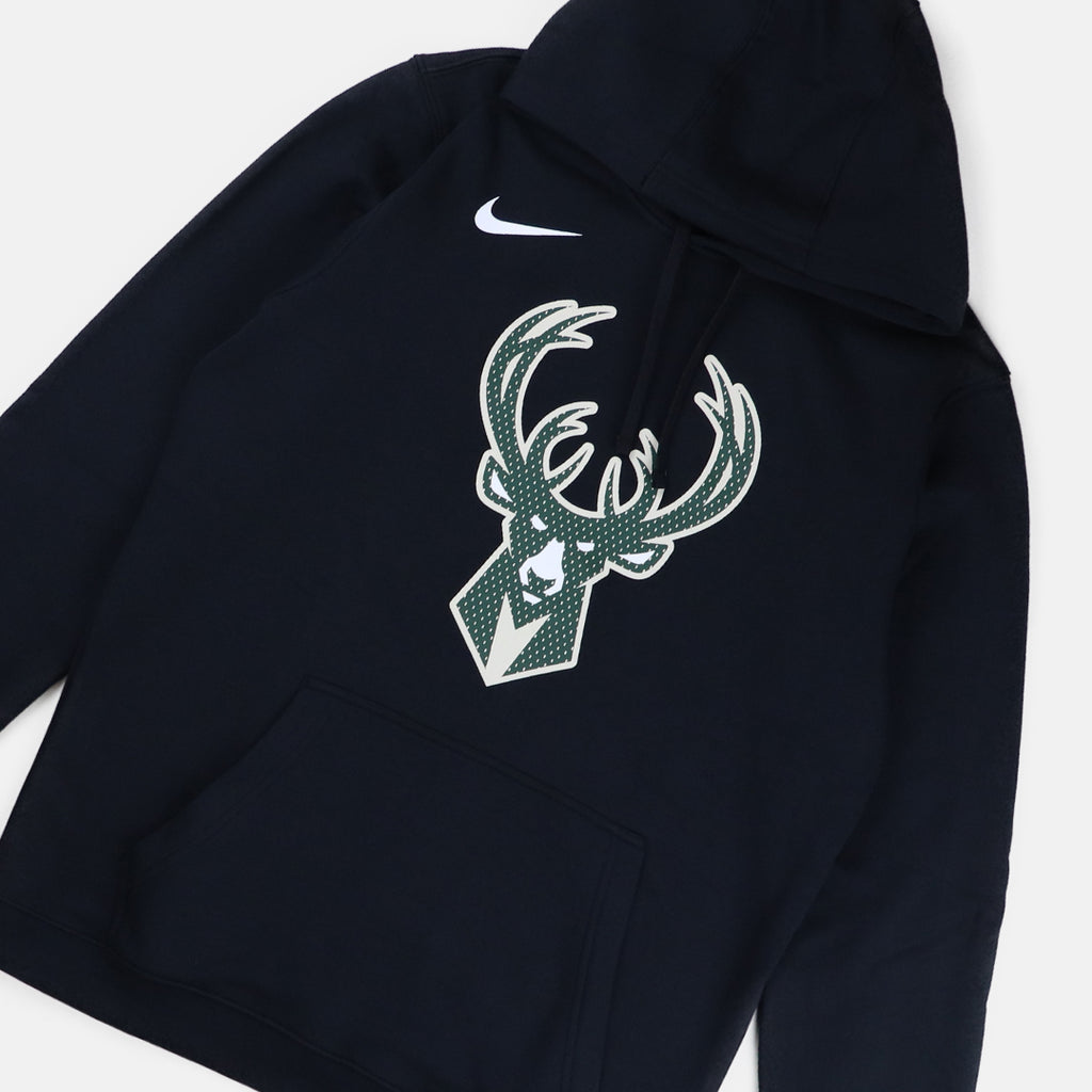 Nike Milwaukee Bucks Club Fleece Logo Hoodie
