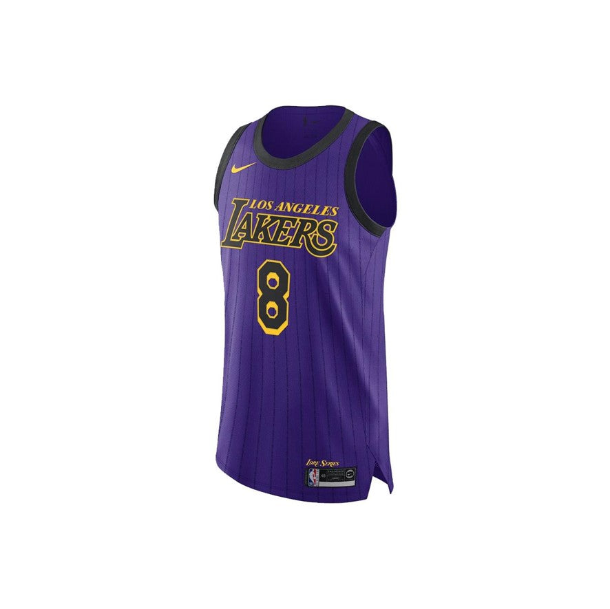 Nike LA Lakers Authentic Jersey Kobe Bryant City Edition #8