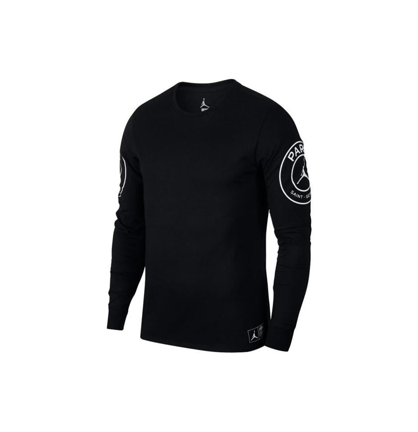 BCFC Long Sleeve Tee  Black/White