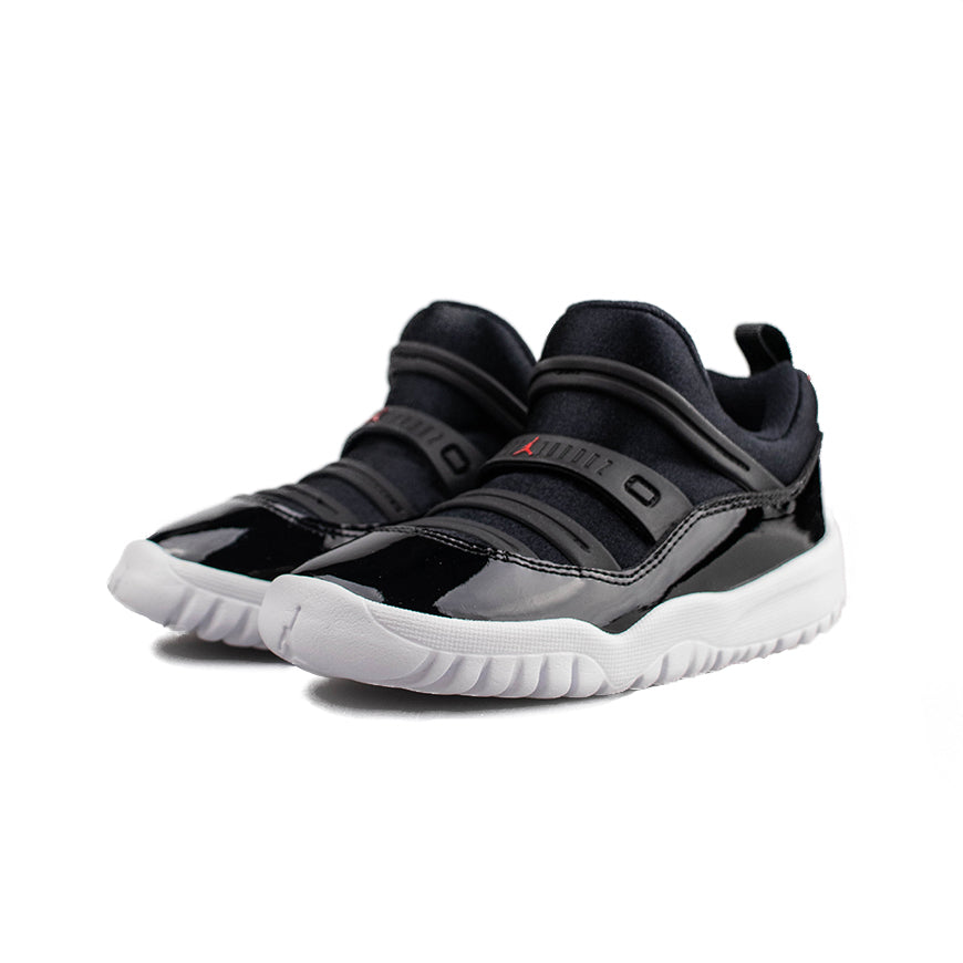 Jordan 11 Retro Little Flex (TD) Black/Red-White Sneakers