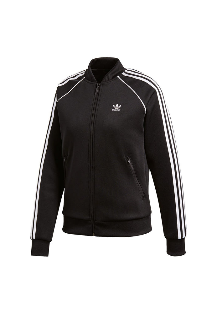 Wmns SST Track Jacket Black/White