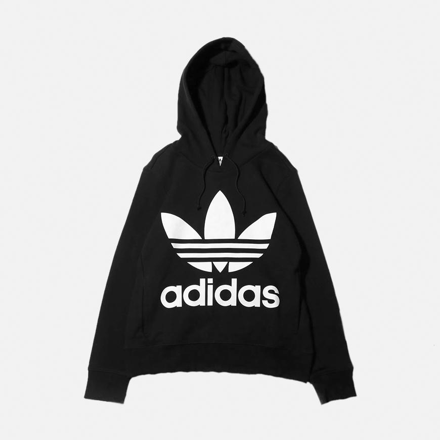 Adidas Trefoil Black Sweats