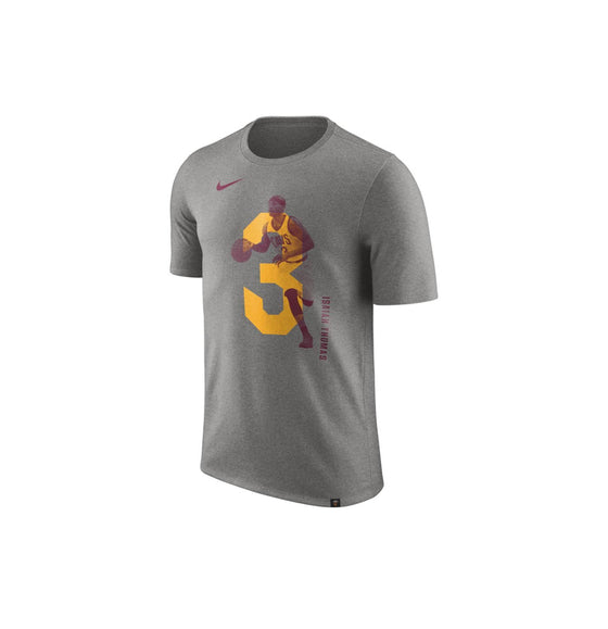 Cleveland Cavs Dry Tee Grey Gold Maroon