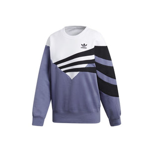 Wmns Sweatshirt   Raw Indigo/White