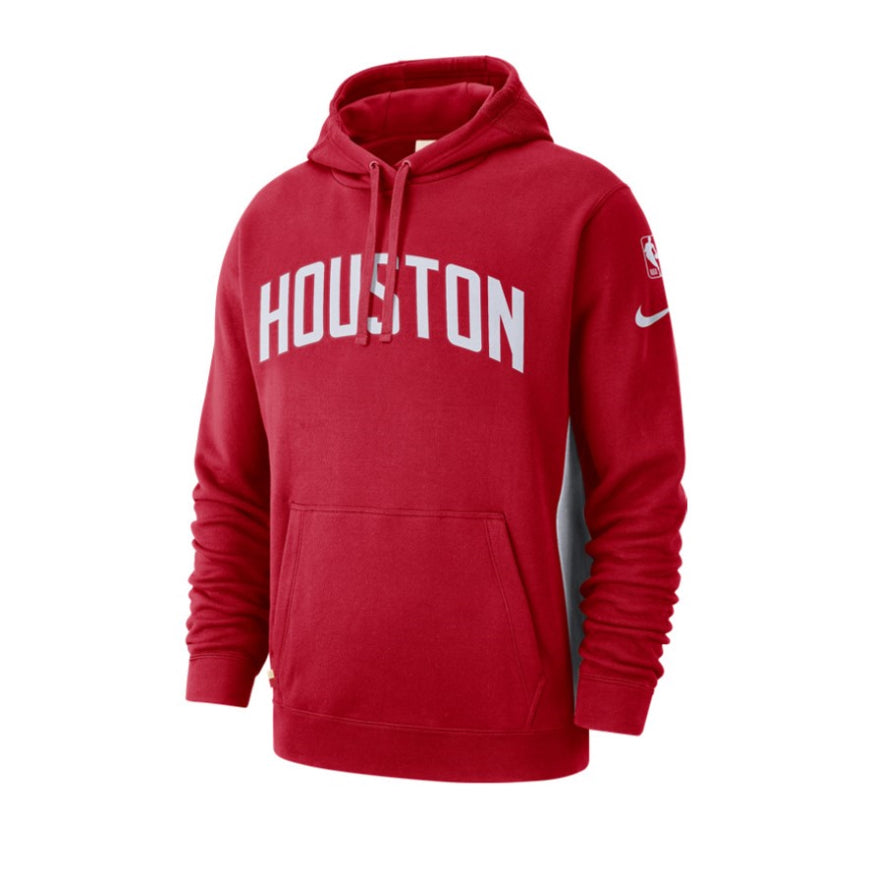 Nike Houston Rockets Courtside Hoodie Earned Edition
