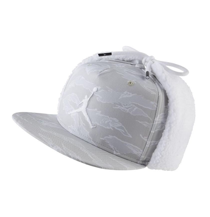 Jordan Pro Shield Cap Light Bone/White