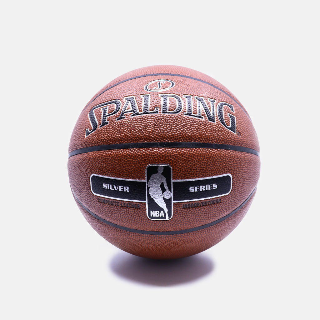 Spalding NBA Silver Series Indoor/Outdoor Basketball