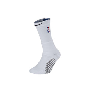 NBA Nikegrip Power Crew Socks White