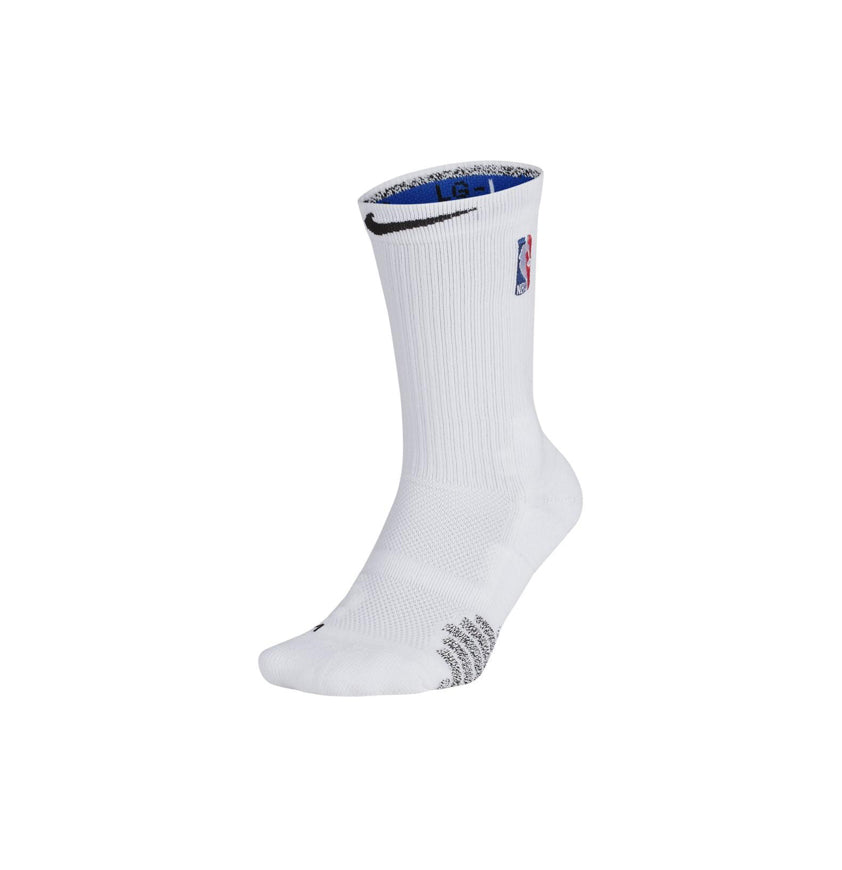 Nike Grip Quick Crew NBA Socks White/Black